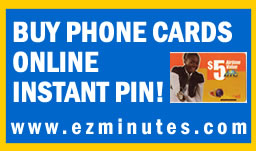 Buy Bahamas Phone Cards Online at www.ezminutes.com